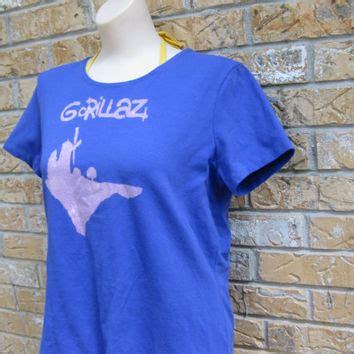Tshirt Gorillaz Blue B C shop gorillaz shirt on wanelo