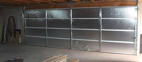 Metal Garage Door Insulation Are Garage Doors Insulated A1 Garage Door Service