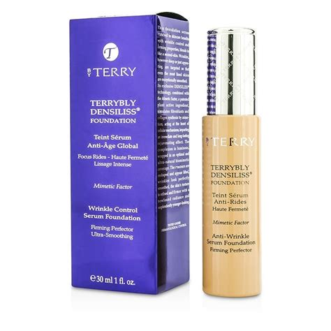 by terry terrybly densiliss foundation 75 honey gland by terry terrybly densiliss wrinkle control serum