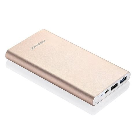 Poweradd Pilot 2GS Portable Charger Rose Gold Power Bank   Poweradd Offcial