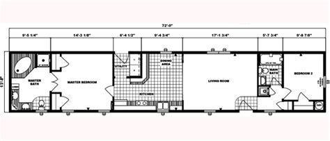 single wide mobile home floor plan floor plans henry s factory built homes