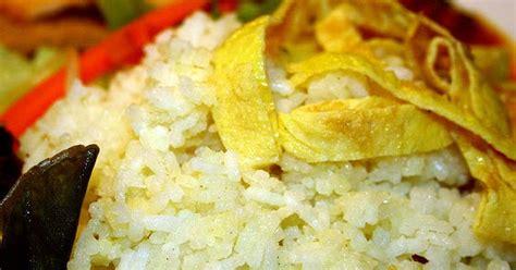 membuat nasi uduk khas betawi resep koki resep membuat nasi uduk khas jakarta betawi