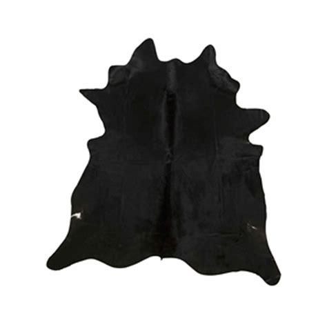 Large Cowhide Rug by Southwest Rugs Large Black Cowhide Rug Lone