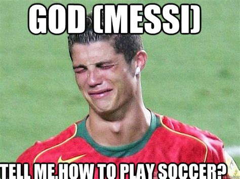 Memes Messi - god messi tell me how to play soccer christina