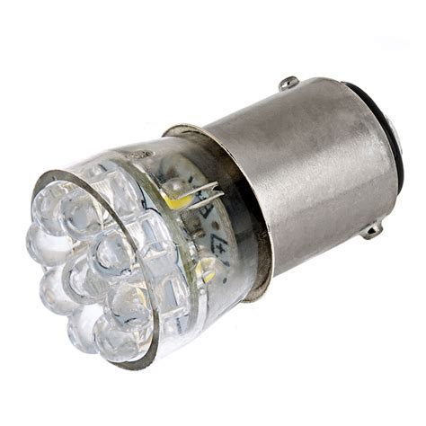Ba15d by 1142 Led Bulb 15 Led Forward Firing Cluster Ba15d Bulb