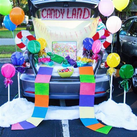 candyland crafts for 53 best trunk or treat ideas images on trunk