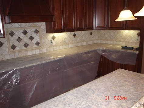 Travertine Tile Kitchen Backsplash Travertine Tile And Travertine Tile Backsplash On