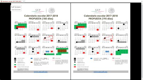 Calendario De 2018 Pdf Zona Escolar 114 Calendario Escolar 2017 2018 A Color Pdf