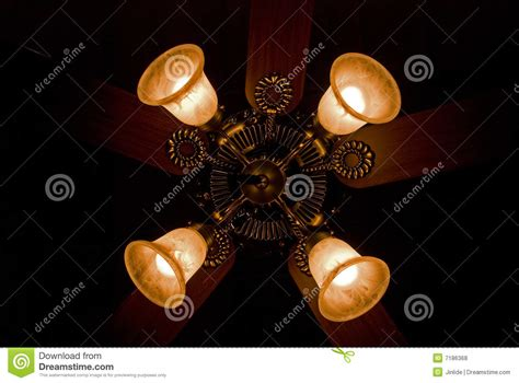 four lights four lights on fan royalty free stock photos image 7186368