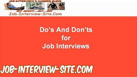 home design do s and don ts dos and don ts of job interviews job interview dos and don ts for job interviews youtube job