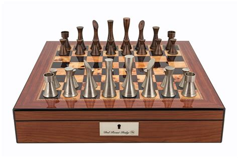 contemporary chess set dal italy chess set 20 quot puzzles and specialists