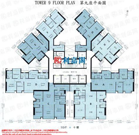 cn tower floor plan 利嘉閣數據 深井 青山公路 屯門段 碧堤半島 碧堤半島 1期 9座