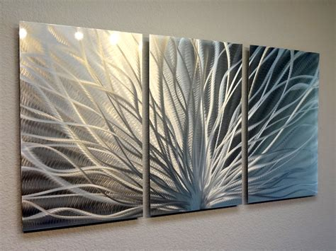 3 panel wall decor radiance 3 panel metal wall abstract contemporary
