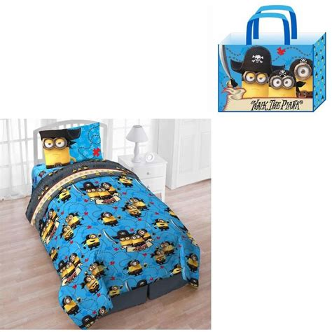 minion bed details about minions twin comforter bed sheet set