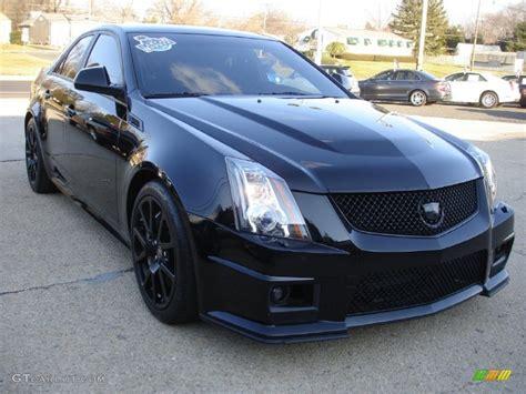 Cts V Black by Black Metallic 2011 Cadillac Cts V Sedan Black