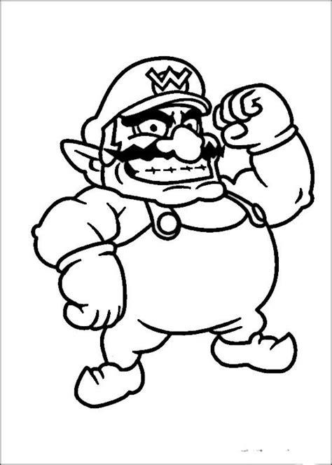Mario Bros 41 dibujos para colorear mario bross 41 dibujos para