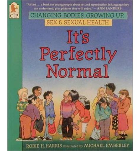 perfectly human books it s perfectly normal ilt michael emberley h robie