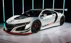new car race acura nsx going gt3 racing sans hybrid gear news car