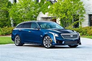 Cadillac Wagon Cts V 2017 Cadillac Cts V Sport Wagon Rendered Gm Authority