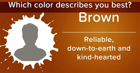 what color describes you which color describes you best