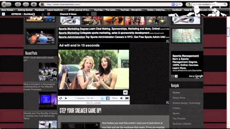 how to broadcast and stream live video on your website or