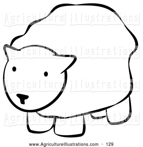 agriculture clipart   black  white coloring page