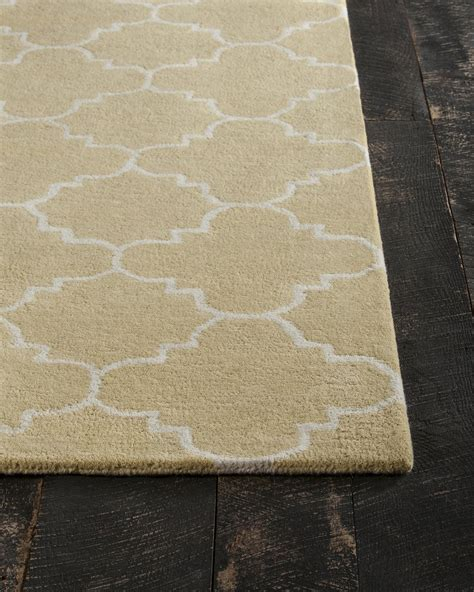Yellow And White Rugs by Davin Collection Tufted Area Rug In Yellow White