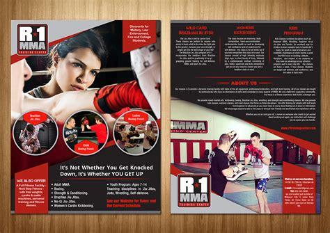 flyer design for gym flyer design for caroline grice by sd web creation