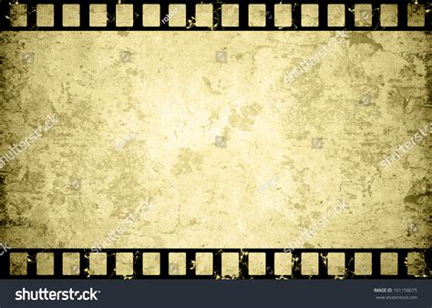 film paper old paper film strip background stock illustration