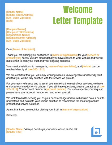 letter template business writing templates