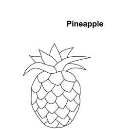 pineapple coloring page printable pineapple coloring pages coloring me