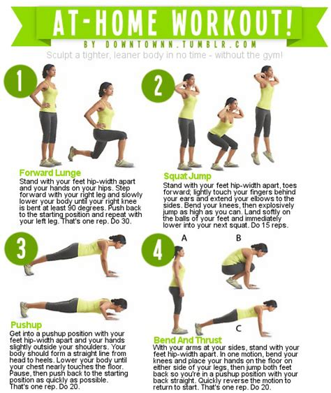 at home workouts no equipment needed you fitness