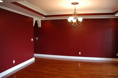 Rooms Painted Red Interior Design