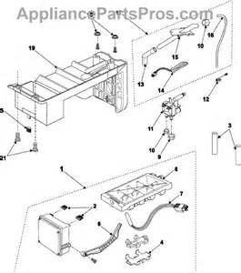 samsung da97 00258c icemaker assembly appliancepartspros