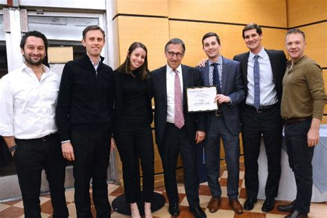 Columbia Real Estate Mba Application by Bodini Foundation Prize Winners Paul Milstein