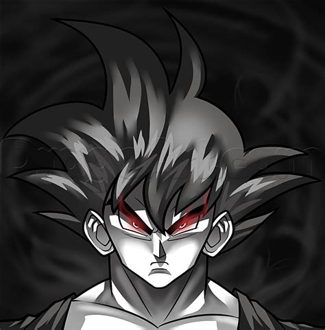 Cool Z Drawings by How To Draw Goku Step By Step Z