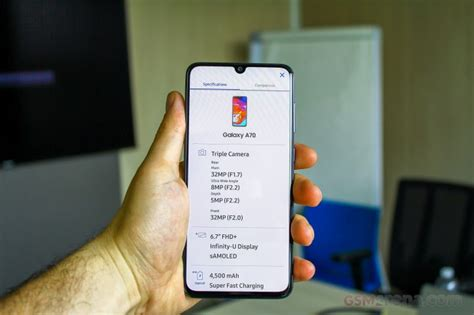 samsung galaxy a80 and a70 on review gsmarena tests