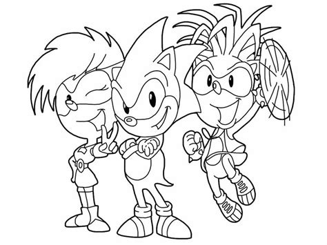 sonic the hedgehog coloring pages free coloring home