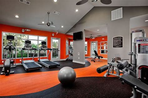 58 awesome ideas for your home it s time for workout home orange walls and colour black