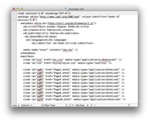 ebook format opf opf epubsecrets