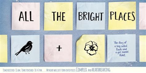 all the bright places 0141357037 all the bright places book review felixturtle