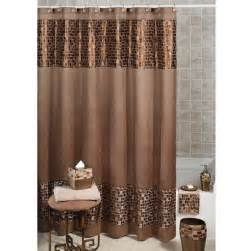 beautiful brown color shower curtain with valance best