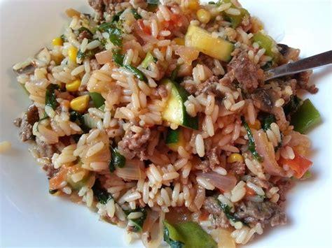 cuisiner viande hach馥 les 20 meilleures id 233 es de la cat 233 gorie riz avec boeuf