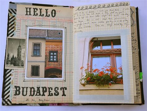 create a cool travel journal