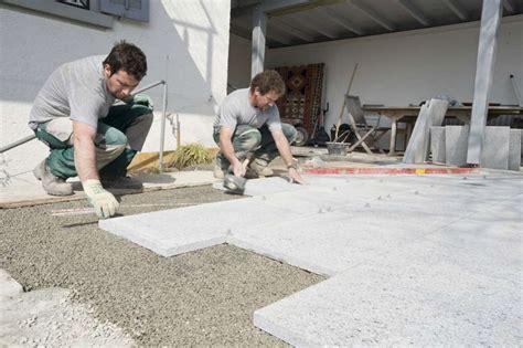 granitplatten schneiden natursteinarbeiten spalinger gartenpflege ag