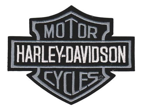 Harley Davidson Shield by Harley Davidson 174 Gray Bar Shield Harley 174 Patch