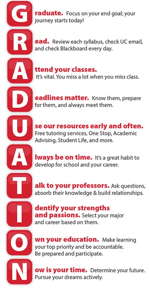 How To Be A Student top 10 tips for student success of cincinnati