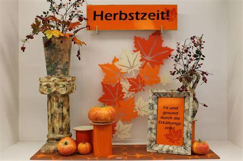 Herbstdeko Für Fenster Basteln by Herbstdekoration Bilder