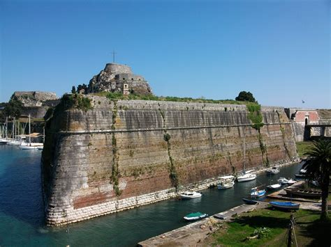 Porte Bébé Hamac Castle by Fortress Corfu Greece Cruisebe Your Ultimate