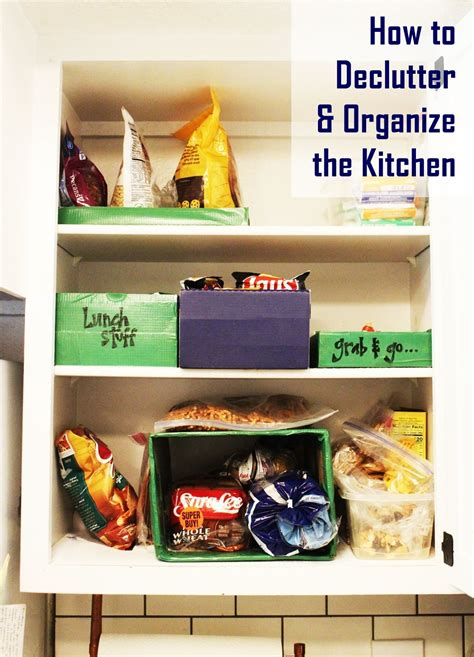 how to declutter kitchen how to declutter the kitchen one cupboard s